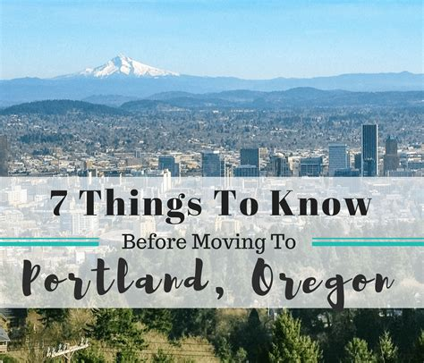 7 Things You Need To Know Before Moving To Portland, Oregon