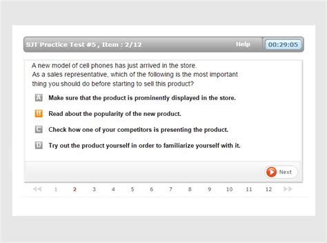situational judgement tests sjt practice tests sample