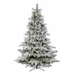 decoration ideas small snow covered flocked artificial christmas tree and small lights combine