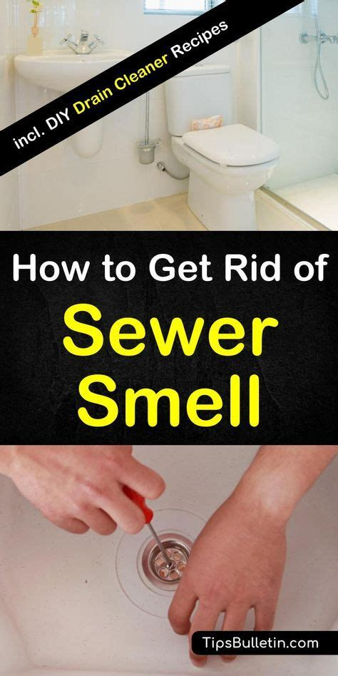rid  sewer smell   house