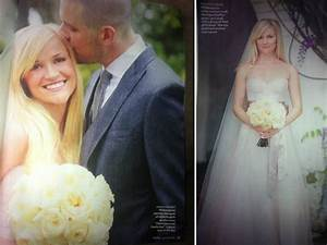 reese witherspoon39s wedding day was the perfect mix of With reese witherspoon wedding dress