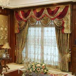 Swag Curtain Ideas For Living Room by Discount Custom Luxury Window Curtains Drapes Valances