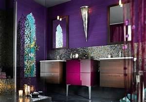 jolie deco salle de bain orientale With deco salle de bain orientale
