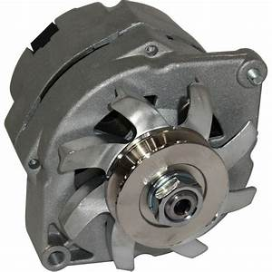 New Alternator Fits 10si Delco 1 Wire Hookup 50 Amp 24 Volt