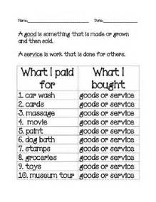 Good and Services in the Community worksheet by 2nd Grade ...
