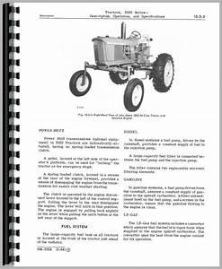 John Deere 3020 Tractor Service Manual