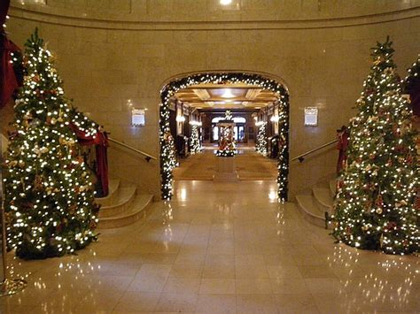 exclusive decorations for christmas in hotels