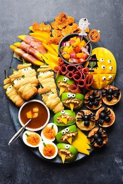 Halloween Snack Dinner Easy Foxes