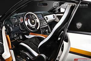 Nissan Gtr Interieur : official nissan gt r orange edition by carlex design ~ Medecine-chirurgie-esthetiques.com Avis de Voitures