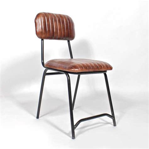 chaise cuir marron chaises cuir marron kissic com