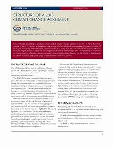 Structure of a 2015 Climate Change Agreement — Center for ...