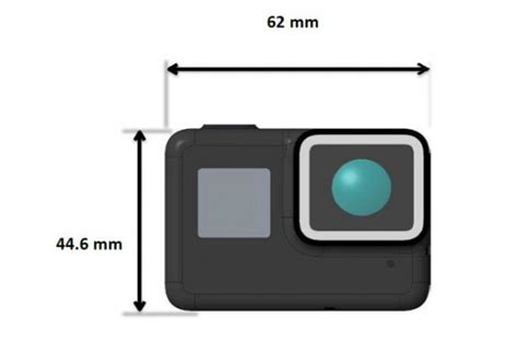 latest gopro hero images leak show camera water