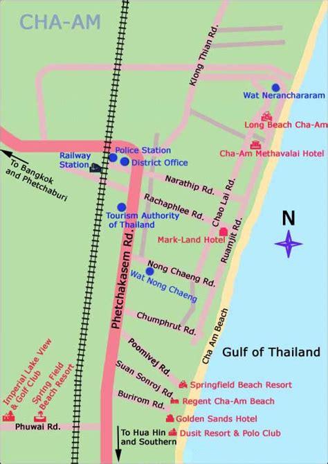 cuisine thaie guide thaïlande carte de cha am