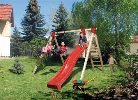 Kindergartenschaukel Aus Holz Was Ist Zu Beachten
