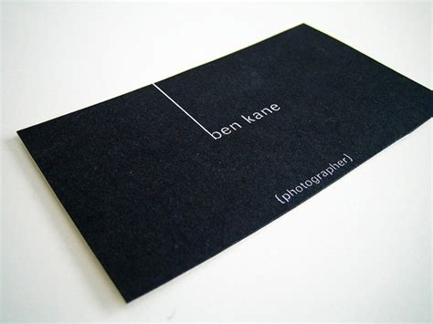 awesome black business cards unique business cards
