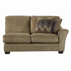 ashley lonsdale 4 piece left cuddler sofa sectional in With sectional sofa with left cuddler