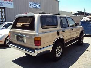 1995 Toyota 4runner Sr5 Model 3 0l V6 At 4x4 Color Gold