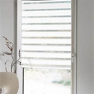 Store Jour Nuit Leroy Merlin : store enrouleur polyester jour nuit inspire blanc 77 80 x ~ Dailycaller-alerts.com Idées de Décoration