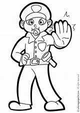 Police Coloring Pages Policeman Printable Officer Drawing Outline Uniform Stop Enforcement Law Ferrari Getcolorings Colouring Printables Getcoloringpages Awesome Printing Sign sketch template