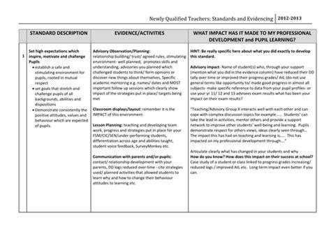 nqt evidence portfolio   ccking teaching resources