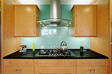 contemporary kitchen backsplashes glass tile backsplash kitchen contemporary with beige wall