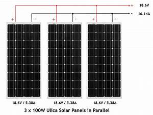 Connecting Your Solar Panels In Parallel