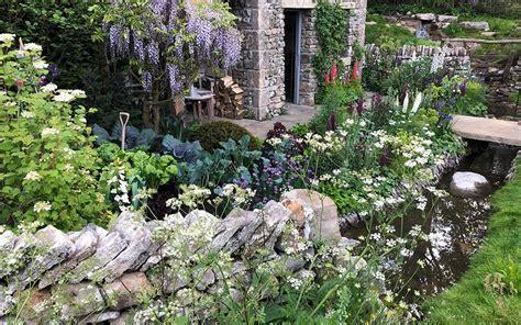 Picturesque Courtyard Garden by Cottage Garden Ideas Hints Tips David Domoney
