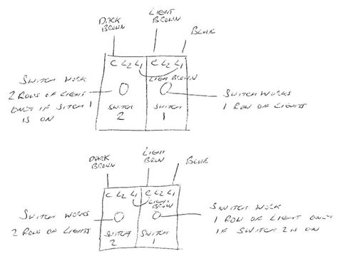 wiring  gang dimmer switch diynot forums