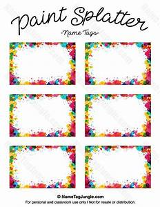 best 25 printable name tags ideas on pinterest With locker tag templates