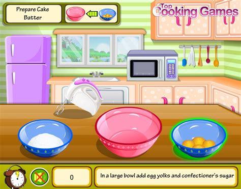 un jeu de cuisine jeu cuisine un gâteau au chocolat gratuit en ligne