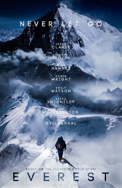 Everest Concept Movie Poster 2015 on Behance