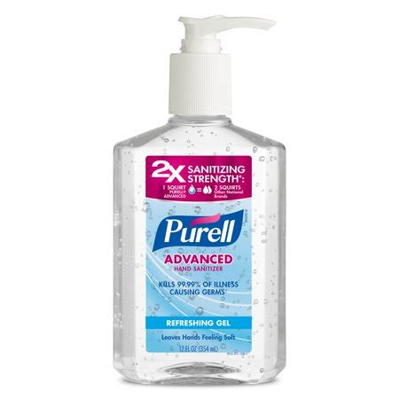(3 Pack) PURELL Advanced Refreshing and Moisturizing Gel