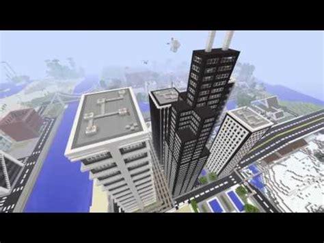 Minecraft Ps4 Skyline City Youtube