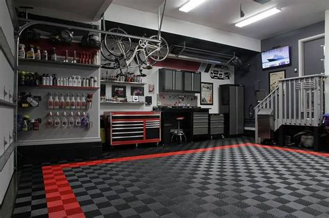 race deck garage floor racedeck garagefloor for the coolestgarageontheblock