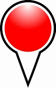 Clipart Squat Marker Red