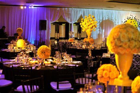 white  yellow wedding decorations black  yellow