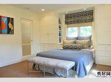 6款卧室衣柜床一体家具设计效果图 带衣柜的多功能组合床装修图片3秀居网
