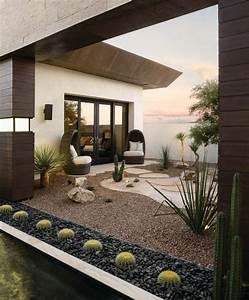 le jardin sur gravier astuces et idees deco With attractive allee de jardin en cailloux 5 creation dallees de jardin avec des dalles et pas