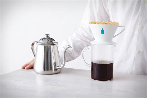 plastic is cheap plastic drop blue bottle coffee dripper uncrate
