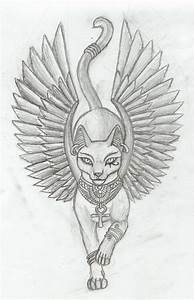Egyptian cat tatoo | Photography & Art | Pinterest ...