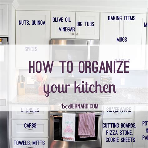 best way to organize kitchen cabinets and drawers how to organize your kitchen home organization