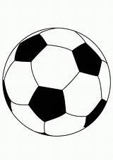 Coloring Soccer Pages Ball Printable Balls Popular sketch template