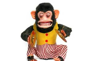 Monkey with Cymbals Toy Story