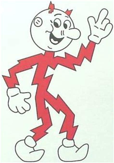 Reddy Kilowatt Character L by Reddy Kilowatt On Symbols Atoms And Coloring