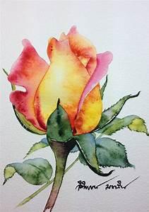 Watercolor by Kitipong Ti | Artist from Bangkok-Thailand ...