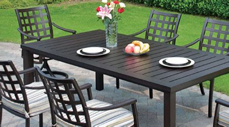 hanamint 174 aluminum outdoor furniture patio land usa