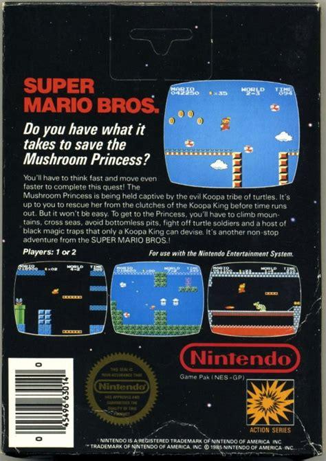 Super Mario Bros For Nintendo Entertainment System Sales