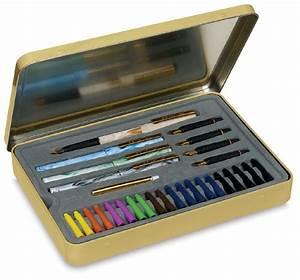 Staedtler calligraphy pen set blick art materials for Staedtler lettering set