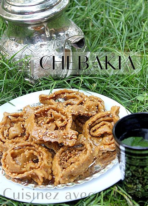 cuisine marocaine recettes recette chebakia marocaine recette chebakia cuisine