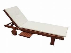 Bain De Soleil En Bois : coussin pour bain de soleil en bois exotique 60488 ~ Teatrodelosmanantiales.com Idées de Décoration